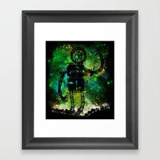 Mad Robot Framed Art Print