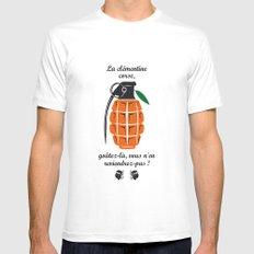La clémentine corse, the corsica clementine MEDIUM White Mens Fitted Tee