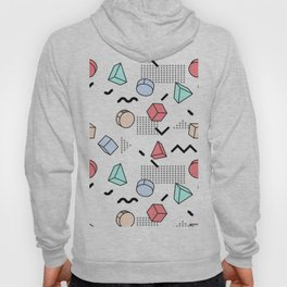 OLD SCHOOL PASTEL RETRO PATTERN Hoody