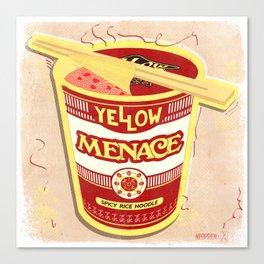 YM Noodles: Campbell's Canvas Print