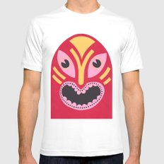 The Jolly Lucha MEDIUM Mens Fitted Tee White