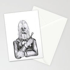 Wookie 007 Stationery Cards