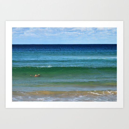 The Old Man and the Sea  Art Print