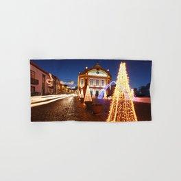 Christmas in Ribeira Grande Hand & Bath Towel