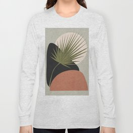 Tropical Leaf- Abstract Art 5 Long Sleeve T-shirt
