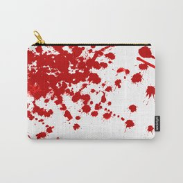 Red Splatter Carry-All Pouch
