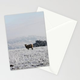 Winter Sheep Stationery Cards