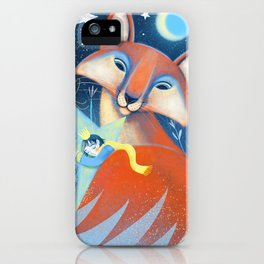 the prince&the fox iPhone Case
