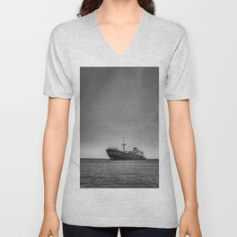 Shipwrecked in Lanzarote Unisex V-Neck