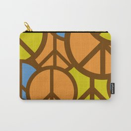 Cool Colorful Groovy Peace Symbols #society6 #decor #buyart #artprint Carry-All Pouch