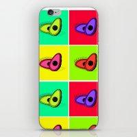 avocado iPhone & iPod Skins featuring Avocado  by Scout Garbaczewski