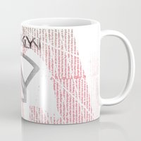 brooklyn Mugs featuring BROOKLYN by designgraphics