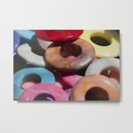 colorful rings Metal Print