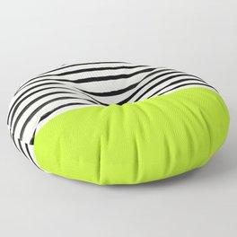 Electric Pineapple x Stripes Floor Pillow