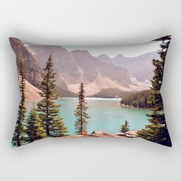 Moraine Lake Rectangular Pillow
