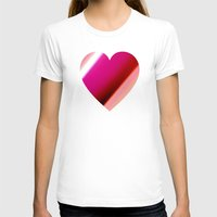 bands T-shirts featuring Bands Heart by Tom Sebert