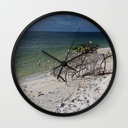 Drift Off Into the Blue Wall Clock