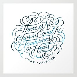 Tenderness of Heart Art Print