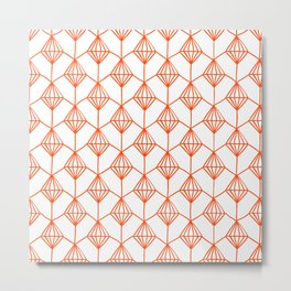 Diamond seamess pattern no2 Metal Print