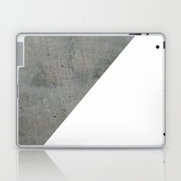Concrete Vs White Laptop & iPad Skin