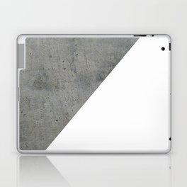 Concrete Vs White Laptop & iPad Skin