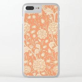 Wild Tulip Clear iPhone Case