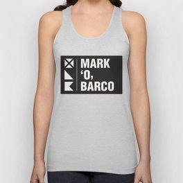 Mark 'O' Barco - logo Unisex Tank Top