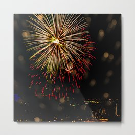 Firework collection 7 Metal Print