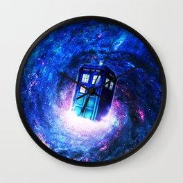 Tardis Doctor Who Vortex Wall Clock