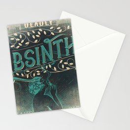 Deadly Absinthe Stationery Cards