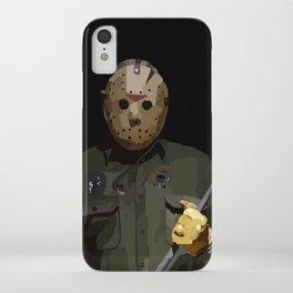 Jason horror iPhone Case