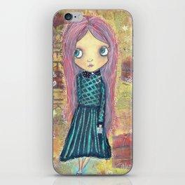 School Daze - Creepy Cutie Claudia iPhone Skin