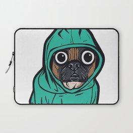 French Bulldog Hoodie Laptop Sleeve