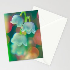 lilly of the valley Stationery Cards