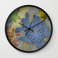 Wiki Leak Wall Clock