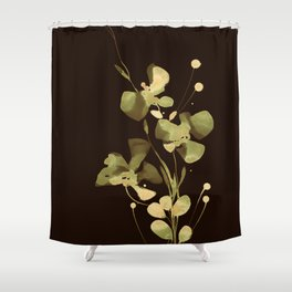 Organic Impressions 334ze by Kathy Morton Stanion Shower Curtain