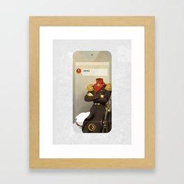 IMHO (MetaPhone) Framed Art Print
