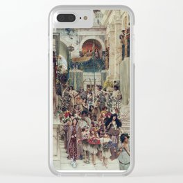 lorde in 'spring' by lawrence alma-tadema, 1894 Clear iPhone Case