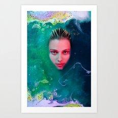 Primordial Soup of Beauty Art Print