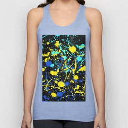 Abstract Creative Splashes Unisex Tank Top