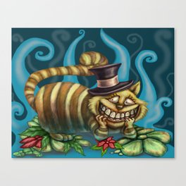 Cheshire Cat, Alice in Wonderland Canvas Print