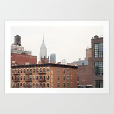 Empire State Building from the High Line Art Print