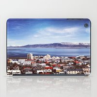iceland iPad Cases featuring Reykjavik, Iceland by tyler Guill