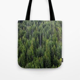Wall of Trees Tote Bag