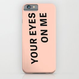 Look - Typography iPhone Case