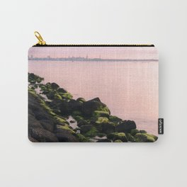 Green Stones and Skyline Carry-All Pouch
