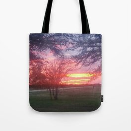 texas purple Tote Bag