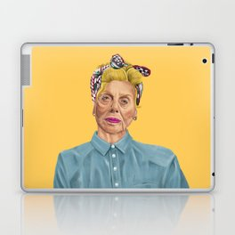 The Israeli Hipster leaders - Shulamit Aloni Laptop & iPad Skin