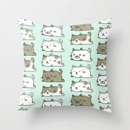 Neko-chan's Throw Pillow