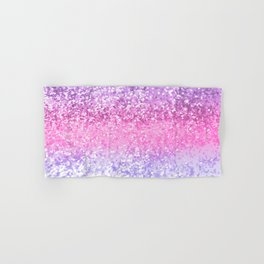 Unicorn Girls Glitter #2 #shiny #decor #art #society6 Hand & Bath Towel